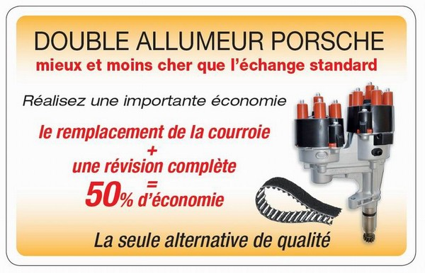 CLINIQUE DOUBLE ALLUMEUR PORSCHE